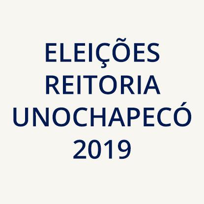 Eleições Reitoria Unochapecó